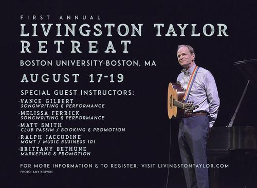 Livingston Taylorrsquos 2018 Retreat