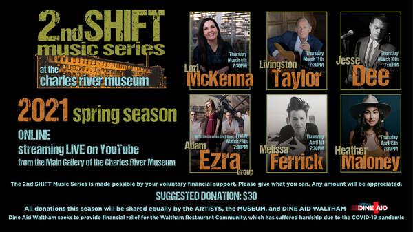 2nd Shift Music Series  Virtual