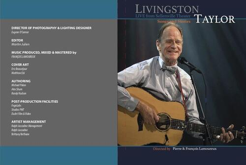 Livingston Taylor Live from Sellersville Theatre Songs amp Stories