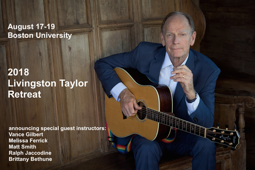 First Annual Livingston Taylor Retreat